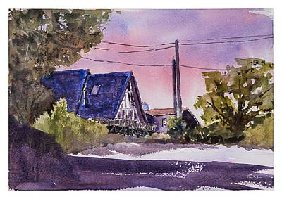 Loose Style Painting - Whidbey Getaway by Barry Jones