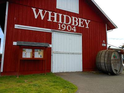 Whidbey's Greenbank Farm Art Print by Kay Gilley