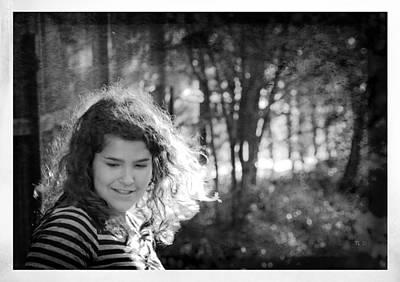 Photograph - While Walking Along A Path by Theresa Tahara