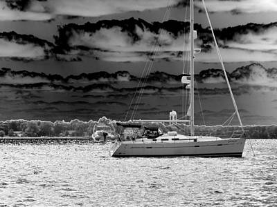 Whilst We Were Sailing Art Print by Rick Todaro