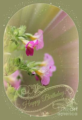 Photograph - Whimsical Birthday by Leone Lund