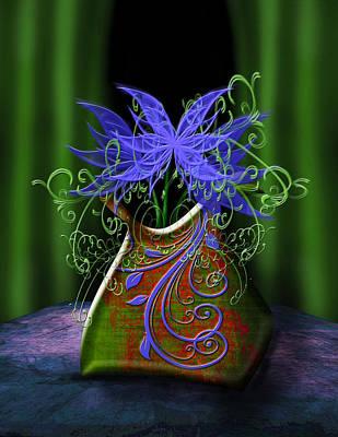 Whimsical Floral Art Print