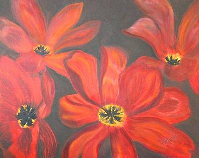 Painting - Whimsical Floral by Tracey Peer