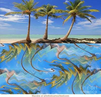 Whimsical Tropics Art Print by PainterArtist FIN