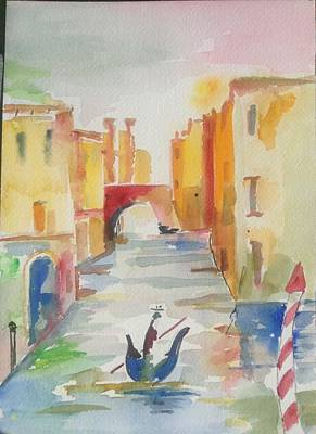 Painting - Whimsical Venice by Pat Steiner