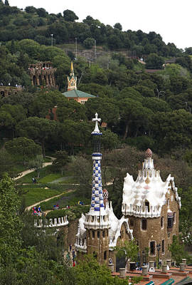 Photograph - Whimsy Of Park Guell by Lorraine Devon Wilke
