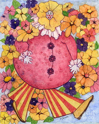 Painting - Whimsy On Parade  by Barbara Jewell