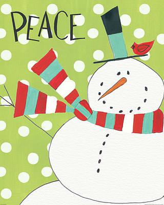 Whimsy Winterland Iv Art Print