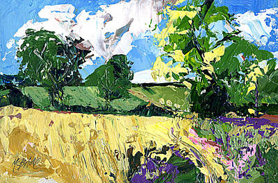 Painted Painting - Whinny Bank Coxwold by Neil McBride