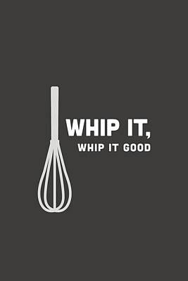 Digital Art - Whip It Good by Nancy Ingersoll