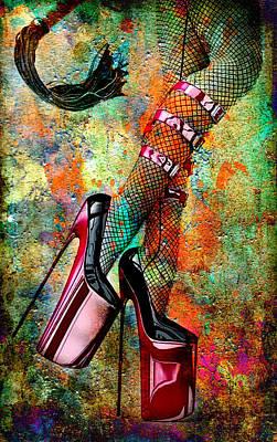Digital Art - Whip It by Greg Sharpe