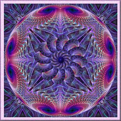 Digital Art - Whirligig by Charmaine Zoe
