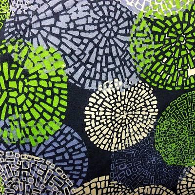 Digital Art - Whirling Shapes by Florene Welebny