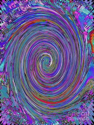 Painting - Whirlpool - Abstract by Robyn King