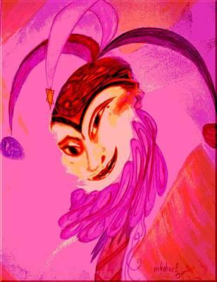 Jester Digital Art - Whirlpool Jester by Marian Hebert