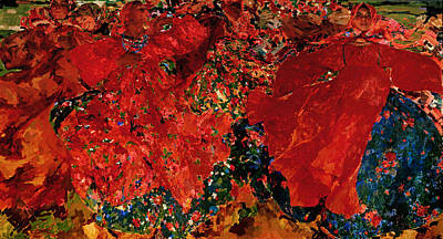 Russia Painting - Whirlwind by Mountain Dreams