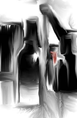 Digital Art - Whiskey And Water by Jessica Wright
