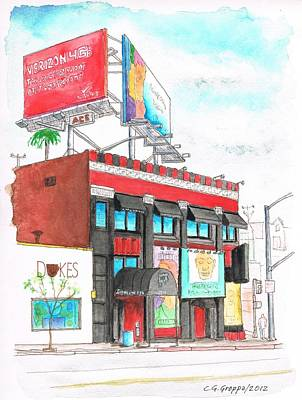 Whisky-a-go-go In West Hollywood - California Original by Carlos G Groppa