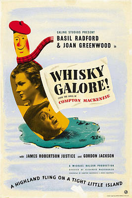Whisky Galore, Aka Whisky Galore, Us Art Print by Everett