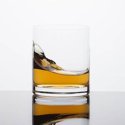 Cocktails Photograph - Whisky Wave by Erin Cadigan