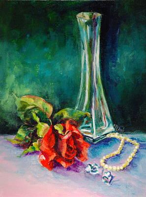 Whisper Of Love Art Print by Donna Pierce-Clark