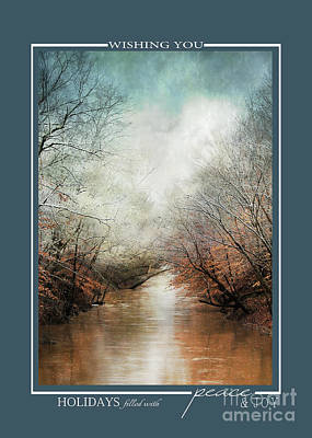 Photograph - Whisper Of Winter Scenic Landscape Christmas Cards by Jai Johnson