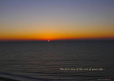 Photograph - Whispered Message At Sunrise by Rhonda McDougall