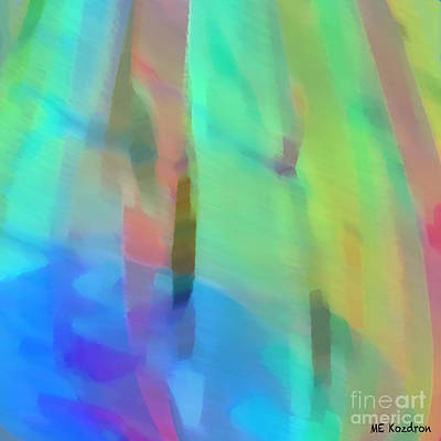 Digital Art - Whispering Breeze by ME Kozdron