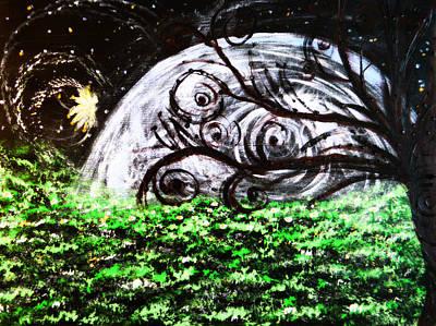 Whispering Fairytales Art Print