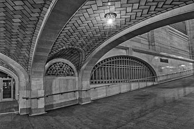 Photograph - Whispering Gallery Bw by Susan Candelario