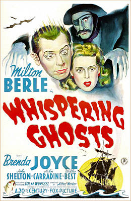 Whispering Ghosts, Us Poster, From Top Art Print