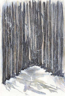 Painting - Whispering Pines by Joan Zepf