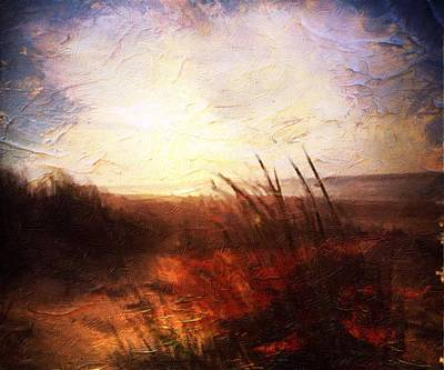 Whispering Shores By M.a Art Print