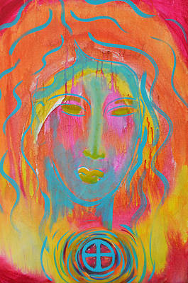 Painting - Whispers Beyond The Veil by Mary Ann Matthys