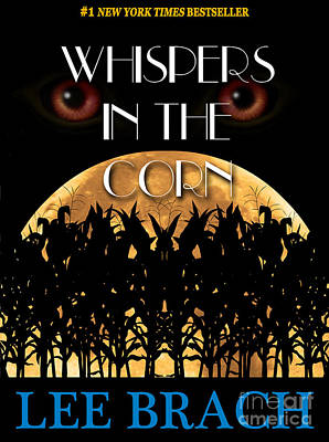Paperback Cover Design Photograph - Whispers In The Corn Book Cover by Mike Nellums