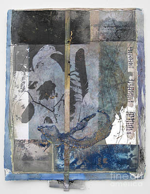 Silks Mixed Media - Whispers Of The Positive by Wen Redmond