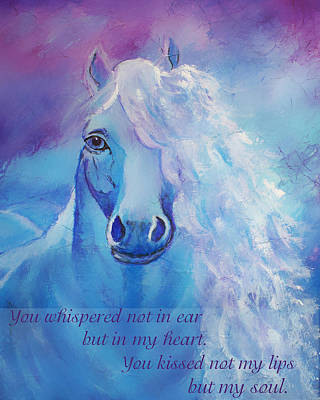 Painting - Whispers To My Heart by The Art With A Heart By Charlotte Phillips