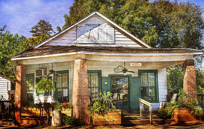 Whistle Stop Cafe Art Print