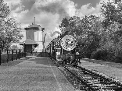 Oil Burner Photograph - Whistle Stop by Robert Frederick