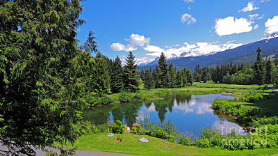 Photograph - Whistler Golf Club by Charline Xia