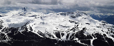 Blackcomb Photograph - Whistler Mountain View From Blackcomb by Pierre Leclerc Photography