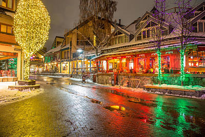 Photograph - Whistler Village Colors by Pierre Leclerc Photography