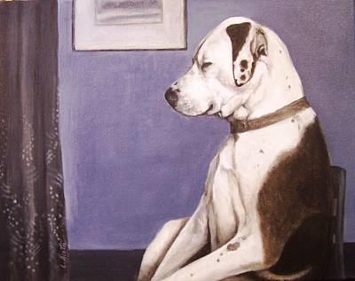 Whistler's Mutt-er Art Print