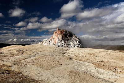 Photograph - Whit Dome Geyser Cone by Adam Jewell