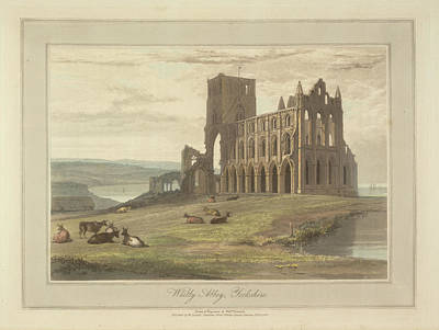Whitby Abbey Photograph - Whitby Abbey by British Library