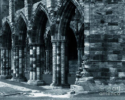 Whitby Abbey Photograph - Whitby Abbey England by Colin Woods