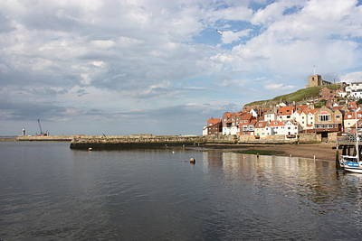 Art Print featuring the photograph Whitby Abbey N.e Yorkshire by Jean Walker