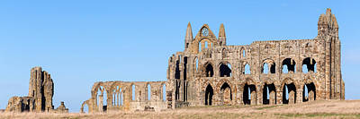 Photograph - Whitby Abbey Panorama by Paul Cowan