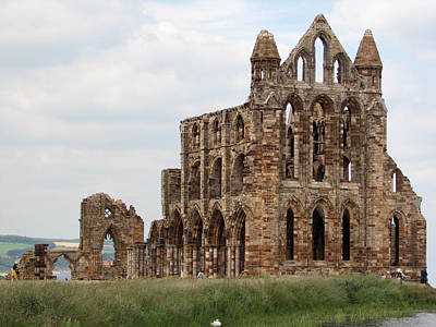 Photograph - Whitby Abbey by Susan Leonard