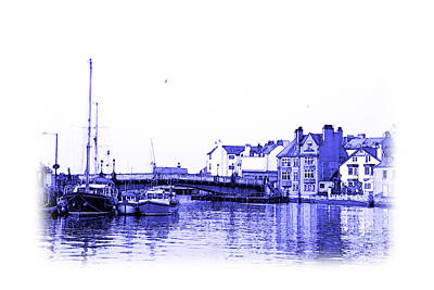 Photograph - Whitby Harbor by Jane McIlroy